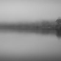 Foggy River Bend