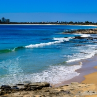 Beachside Blue, Mooloolaba Beach Queensland